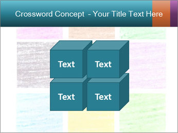 Multicolored squares PowerPoint Template - Slide 39