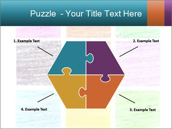 Multicolored squares PowerPoint Template - Slide 40