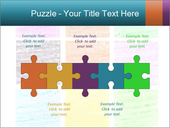 Multicolored squares PowerPoint Template - Slide 41