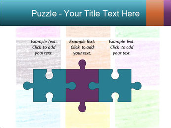 Multicolored squares PowerPoint Template - Slide 42