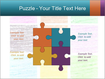 Multicolored squares PowerPoint Template - Slide 43