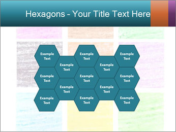 Multicolored squares PowerPoint Template - Slide 44