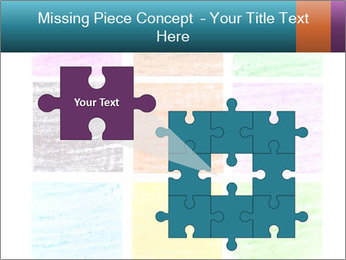 Multicolored squares PowerPoint Template - Slide 45