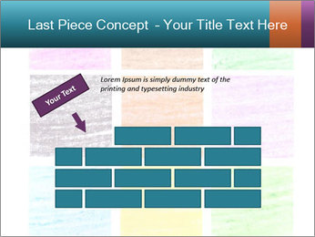 Multicolored squares PowerPoint Template - Slide 46
