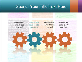 Multicolored squares PowerPoint Template - Slide 48