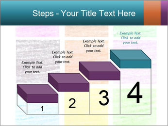 Multicolored squares PowerPoint Template - Slide 64