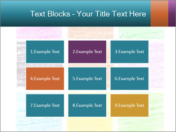 Multicolored squares PowerPoint Template - Slide 68