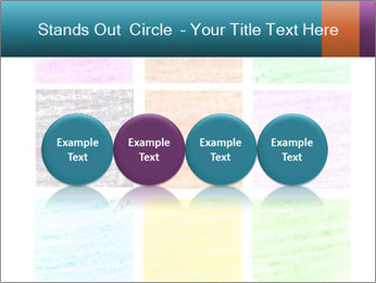 Multicolored squares PowerPoint Template - Slide 76