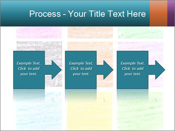 Multicolored squares PowerPoint Template - Slide 88