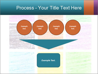 Multicolored squares PowerPoint Template - Slide 93
