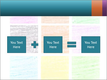 Multicolored squares PowerPoint Template - Slide 95