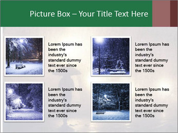 Night alley PowerPoint Templates - Slide 14