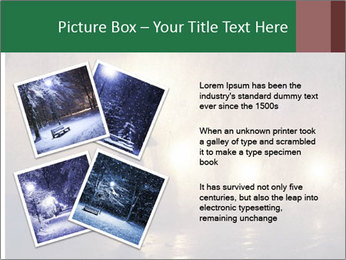 Night alley PowerPoint Templates - Slide 23