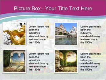 Beautiful statue PowerPoint Templates - Slide 14