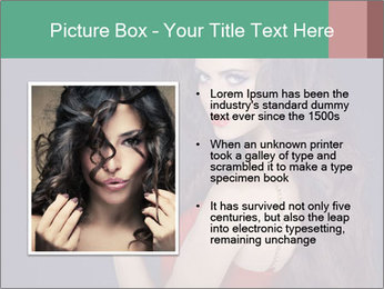 Charming girl PowerPoint Templates - Slide 13