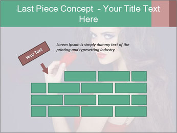 Charming girl PowerPoint Templates - Slide 46