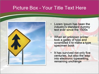 Road signs PowerPoint Templates - Slide 13