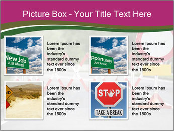 Road signs PowerPoint Templates - Slide 14