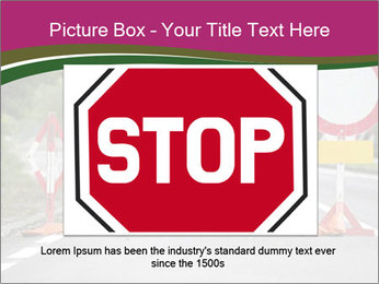 Road signs PowerPoint Templates - Slide 15