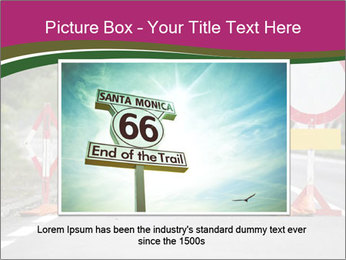 Road signs PowerPoint Templates - Slide 16
