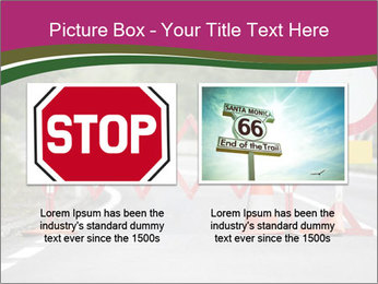 Road signs PowerPoint Templates - Slide 18