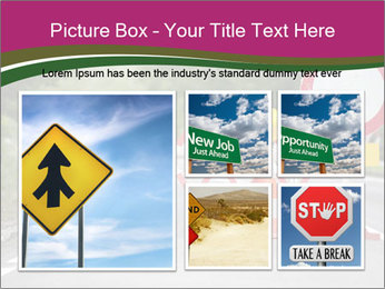 Road signs PowerPoint Templates - Slide 19