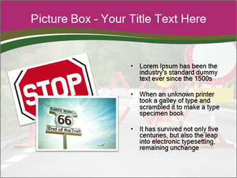 Road signs PowerPoint Templates - Slide 20