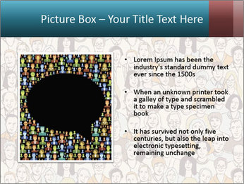 Large crowd of people PowerPoint Templates - Slide 13