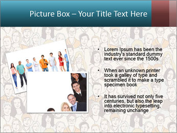 Large crowd of people PowerPoint Templates - Slide 20