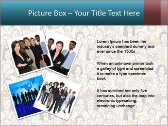 Large crowd of people PowerPoint Templates - Slide 23