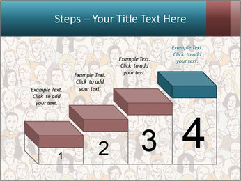 Large crowd of people PowerPoint Templates - Slide 64