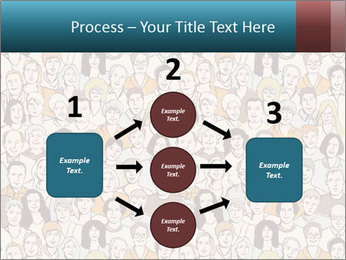 Large crowd of people PowerPoint Templates - Slide 92