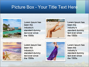The ocean and beach PowerPoint Template - Slide 14