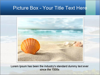 The ocean and beach PowerPoint Template - Slide 15
