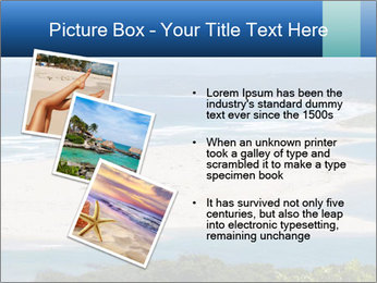 The ocean and beach PowerPoint Template - Slide 17
