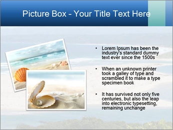 The ocean and beach PowerPoint Template - Slide 20