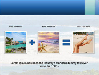 The ocean and beach PowerPoint Template - Slide 22