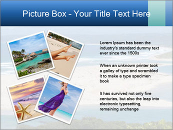 The ocean and beach PowerPoint Template - Slide 23