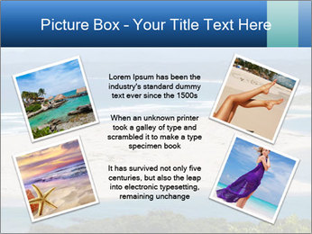 The ocean and beach PowerPoint Template - Slide 24
