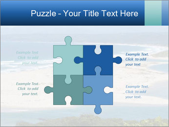 The ocean and beach PowerPoint Template - Slide 43