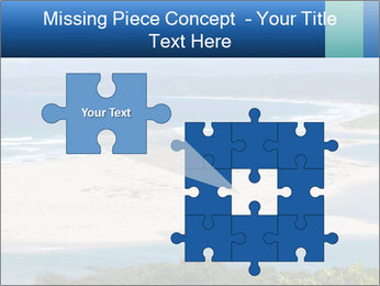 The ocean and beach PowerPoint Template - Slide 45