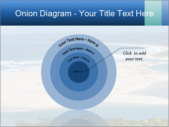The ocean and beach PowerPoint Template - Slide 61