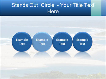 The ocean and beach PowerPoint Template - Slide 76
