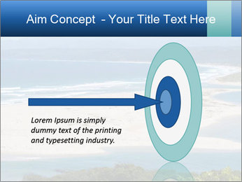 The ocean and beach PowerPoint Template - Slide 83
