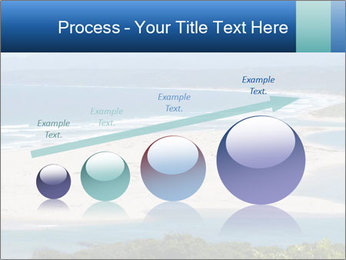 The ocean and beach PowerPoint Template - Slide 87