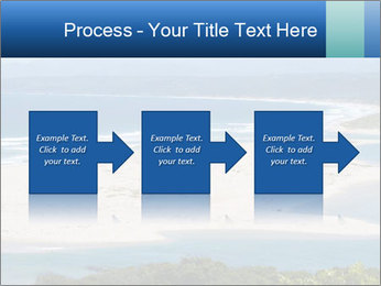 The ocean and beach PowerPoint Template - Slide 88