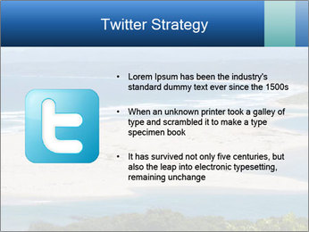 The ocean and beach PowerPoint Template - Slide 9