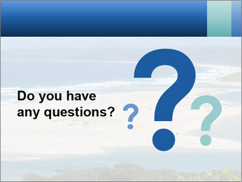 The ocean and beach PowerPoint Template - Slide 96