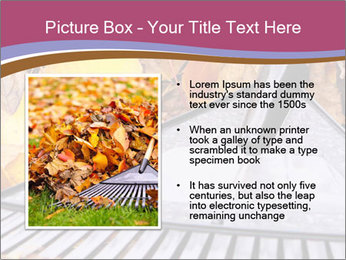Autumn leaves PowerPoint Templates - Slide 13