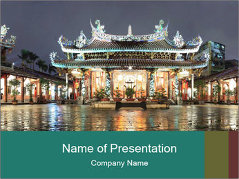 Traditional Chinese PowerPoint Templates - Slide 1